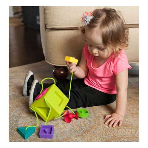 Fat Brain OombbCube Shapes Toy