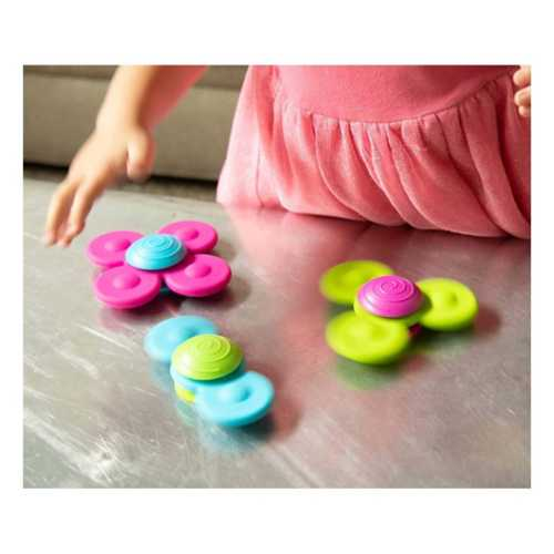 Fat Brain Whirly Squigz Sensory Toy