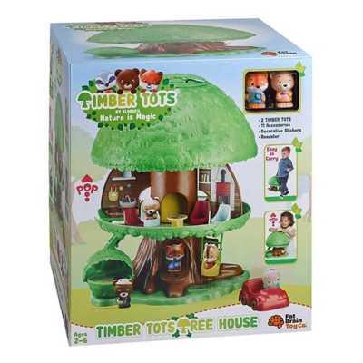 Fat Brain Timber Tots Tree House