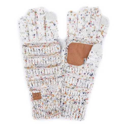 Women's C.C Flecked Gloves