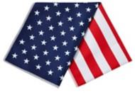 Mission Skincare USA Flag Microfiber Cooling Towel