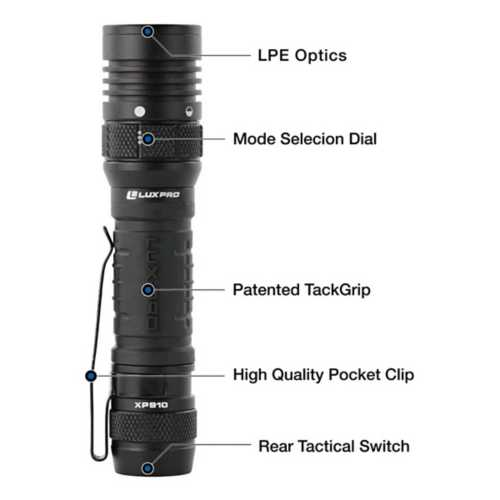 Lux Pro Pro Series Rechargeable Flashlight