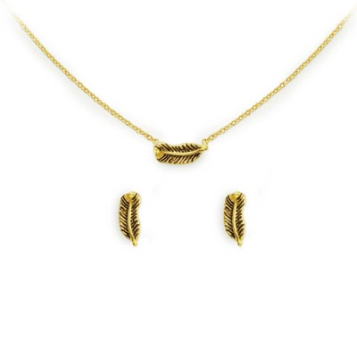 Women's Kitsch Be Free Necklace & Earring Set