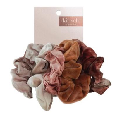 Women's Kitsch Rust Tye Die Scrunchie Pack