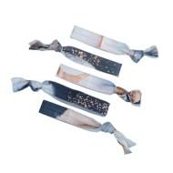 Women's Kitsch Paint Strokes Hair Ties