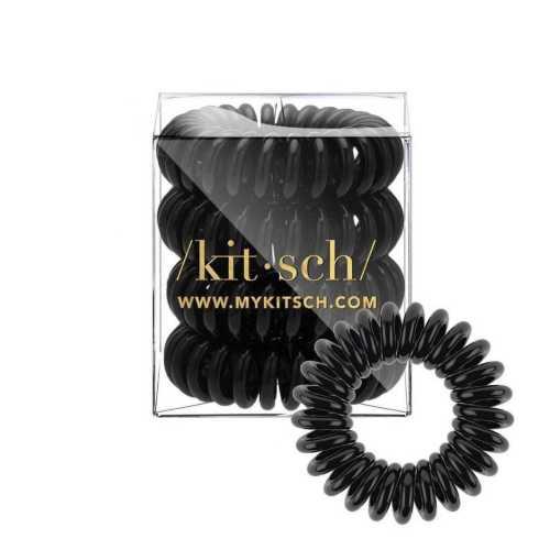 Women's Kitsch 4pc Black Hair Coils