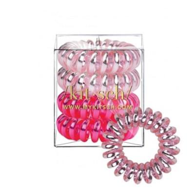 Women's Kitsch Crushed Metallic Hair Coils