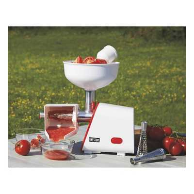Weston Electric Tomato Strainer - 4 Quart