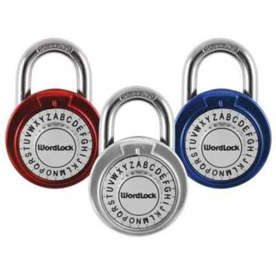 Wordlock Text Combination Dial Lock