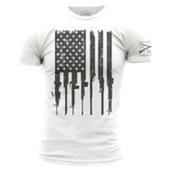 Men's Grunt Style Rifle Flag T-Shirt