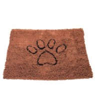 Dirty Dog Doormat Medium Brown