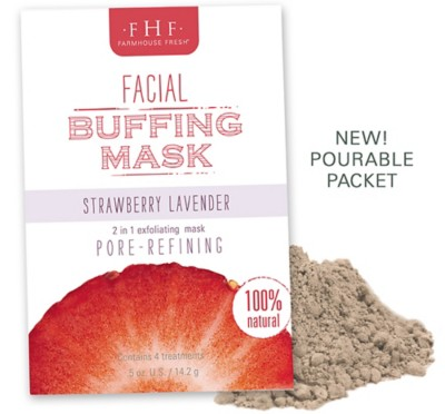 Farmhouse Fresh Strawberry Lavender Facial Buffing Mask