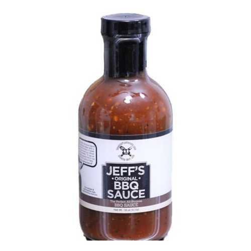Jeff's Original BBQ Sauce