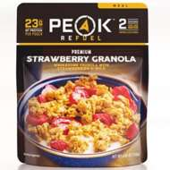 Peak Refuel Strawberry Granola