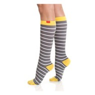 Women's Vim and Vigr Nautical Stripes Compression Socks