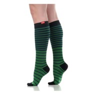 Women's Vim and Vigr Falling Stripe Compression Socks