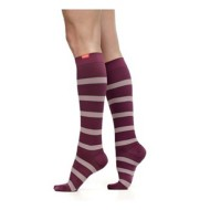 Women's Vim and Vigr Stripe Knee High Socks