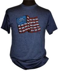 Men's Cyclelogical Chain Flag Biking T-Shirt
