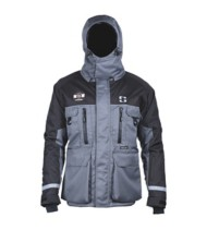 Men's Striker Ice HardWater Jacket Grey Black
