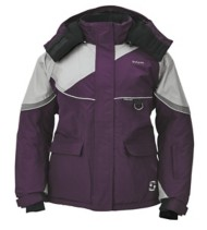 Women's Striker Ice Prism Jacket Marsala Grey