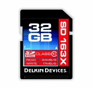 Delkin Devices SD Card