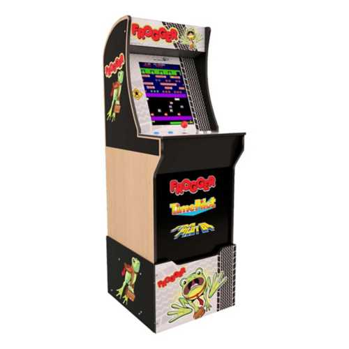 Arcade1UP Frogger Arcade Game with Riser