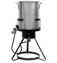 CHARD Heavy Duty Aluminum Turkey Fryer