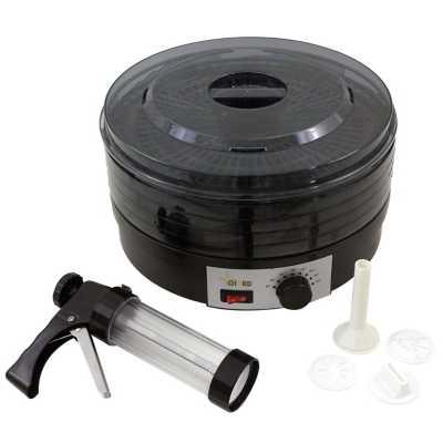 CHARD 4-Tray Dehydrator & Jerky Gun Combo
