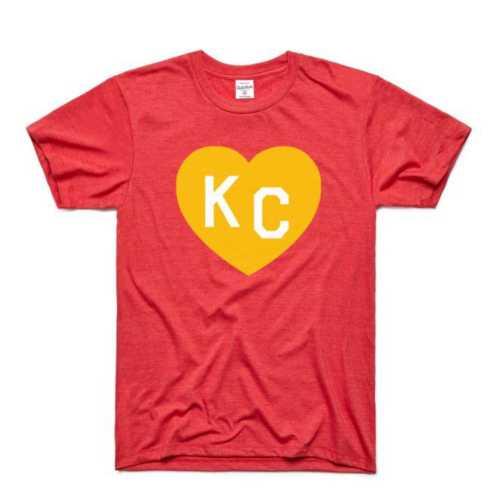 Men's Charlie Hustle KC Heart Short Sleeve T-Shirt