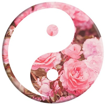 Pop Socket Yin Yang Roses