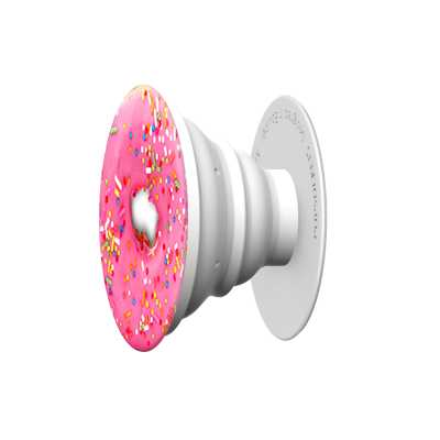 Pink Donut Pop Socket