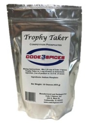 Code 3 Spices Trophy Taker Competition Phosphates