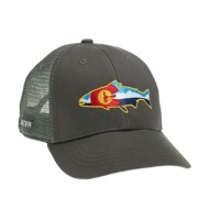 RepYourWater Colorado Fly and Mountains Mesh Back Hat