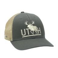 Rep Your Water Utah Bull Elk Hat