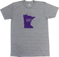 Men's Locally Grown Minnesota Solid State T-Shirt