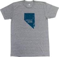 Men's Locally Grown Nevada Solid State T-Shirt