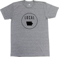 Men's Locally Grown Iowa Local T-Shirt