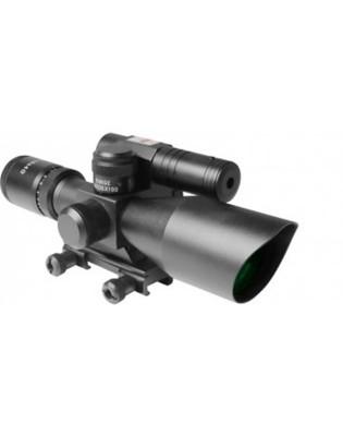Aim Sports Titan Series 2.5-10x44 Green Laser Scope