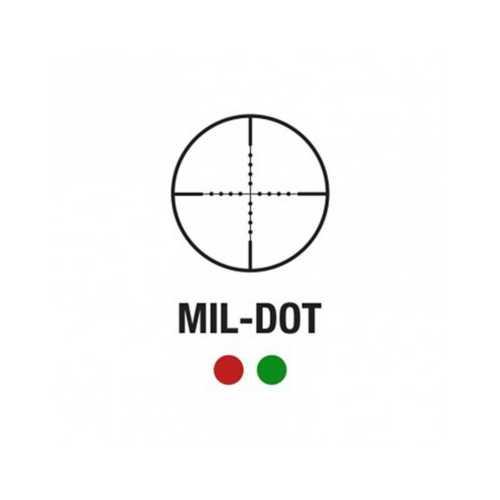 Aim Sports Titan Series 2.5-10x40 Green Laser Scope