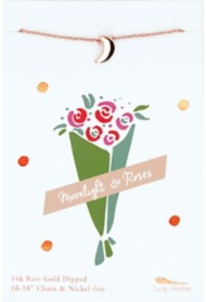Women's Lucky Feather Rose Gold Necklace