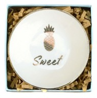 Women's Lucky Feather Sweet Trinket Dish
