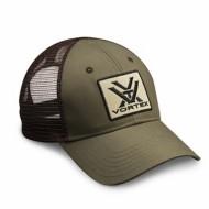 Vortex Green and Brown Cap