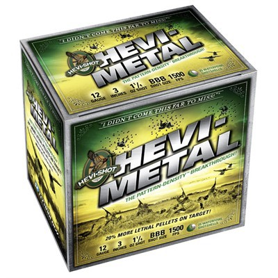 Hevi-Metal 12ga. 3.5in 1.5oz. #2 25/bx