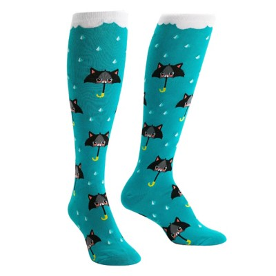 Adult Sock It To Me Cats Knee High Socks
