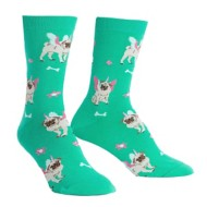 Women's Sock It To Me Pugasus Crew Socks