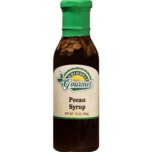 Uniquely Gourmet Pecan Syrup