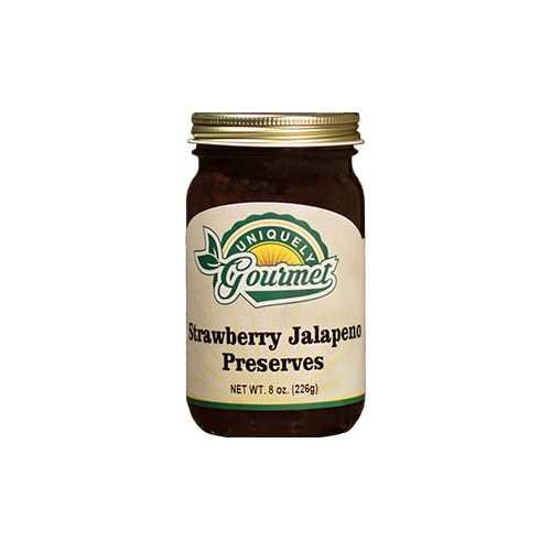 Uniquely Gourmet Strawberry Jalapeno Preserves