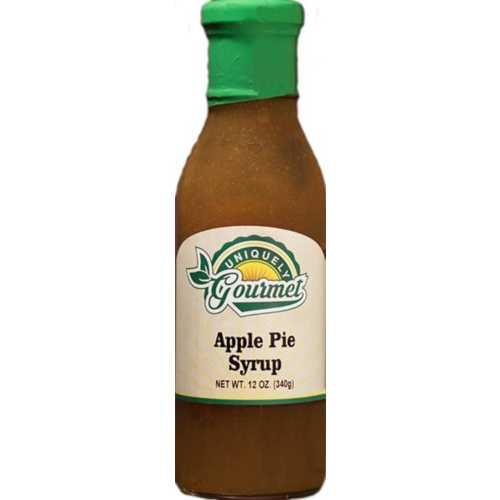 Uniquely Gourmet Apple Pie Syrup