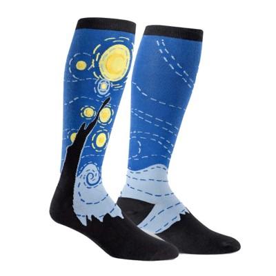 Women's Sock It To Me Starry Knight Knee High Socks