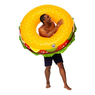 Big Mouth Giant Cheeseburger Pool Float